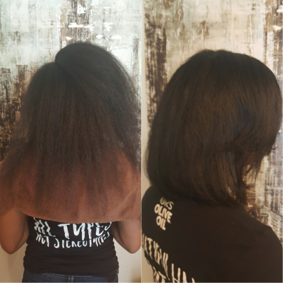Before and after my cut