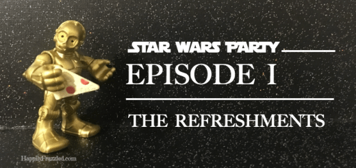 Star Wars Party | The Refreshments | HappilyFrazzled.com