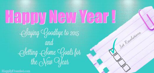 Happy New Year   HappilyFrazzled.com