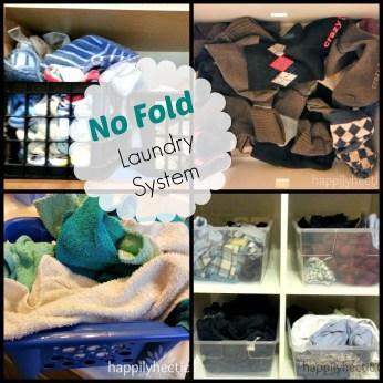 no fold laundry