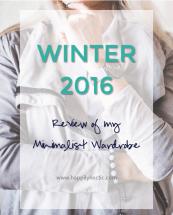 winter 2016 minimalist wardrobe
