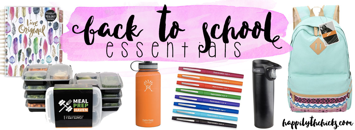 Friday Faves: Back to School Essentials
