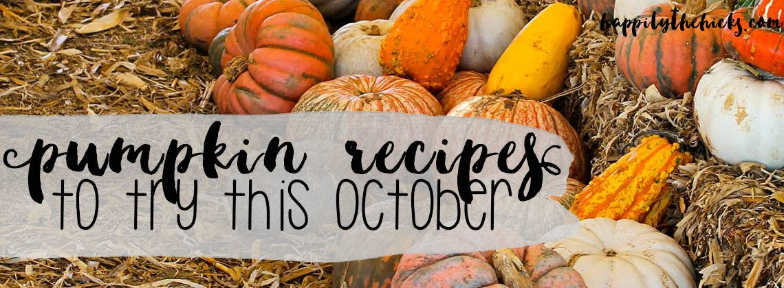 Pumpkin Recipes to Try this October