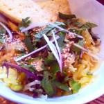Spaghetti Squash Lime Peanut Noodle Bowl - an Ageless Diet™ Recipe