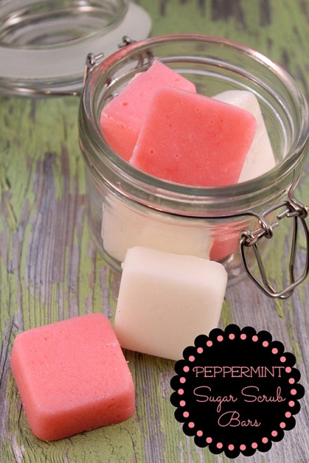 Do you love homemade beauty products that are are nourishing & invigorating? These Peppermint Sugar Scrub Bars leave your skin silky smooth & face smiling!