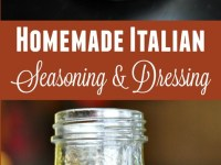 It's so easy to make your own Italian seasoning spice mix and Italian dressing! All you need is a few simple ingredients to get started with these recipes and you'll never go back to the more expensive store bought versions!