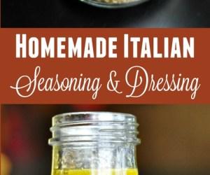 Easy Homemade Italian Seasoning Spice Mix & Italian Dressing