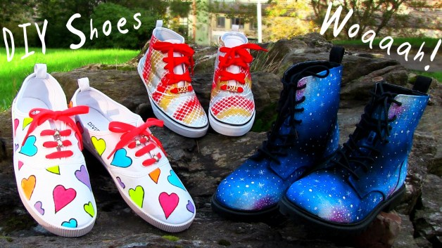 3 Easy DIY Shoe Designs For Adults & Kids