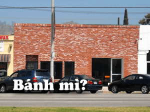 Bahn mi coming to Glendale Blvd.
