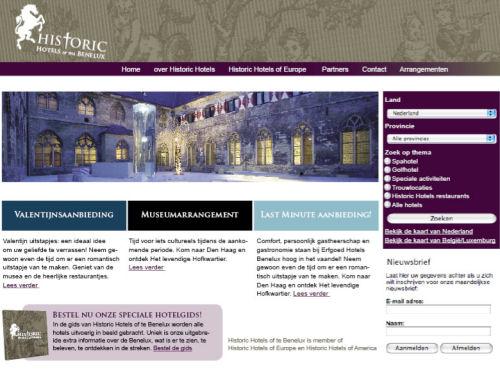 HISTORIC HOTELS BENELUX