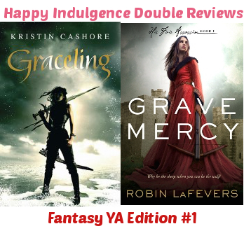 Fantasy Reviews #1 – Grave Mercy by Robin LaFevers & Graceling by Kristin Cashore