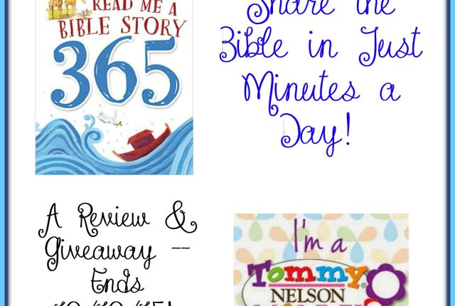 read me a bible story 365 giveaway
