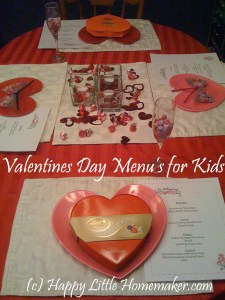 valentines menus kids copy