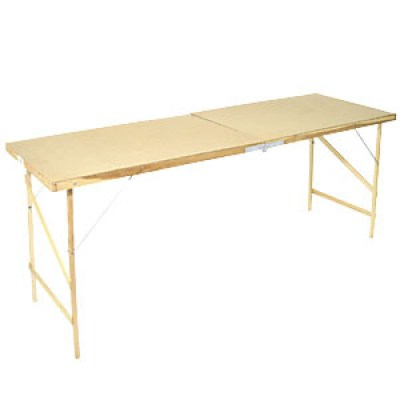 Wooden Collapsible Wallpaper Paste Table
