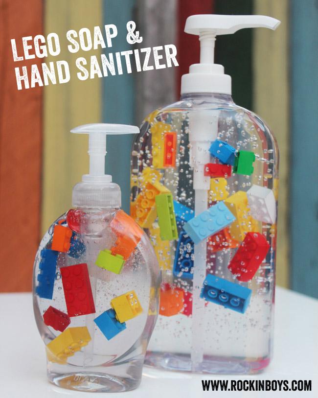lego soap
