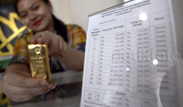 harga emas antam balik lagi ke 548000 per gram