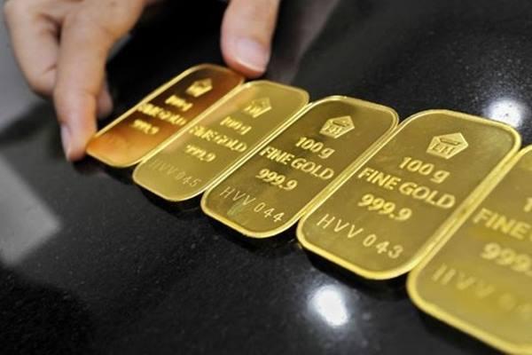 Import emas China dari Hongkong merosot