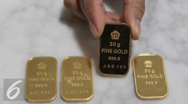 Harga emas berkilau usai suku bunga AS naik