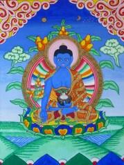 Medicine Buddha ©1997 Lama Lhanung