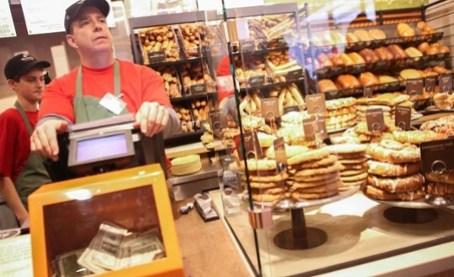 Boston's Panera Cafe … no fixed prices.