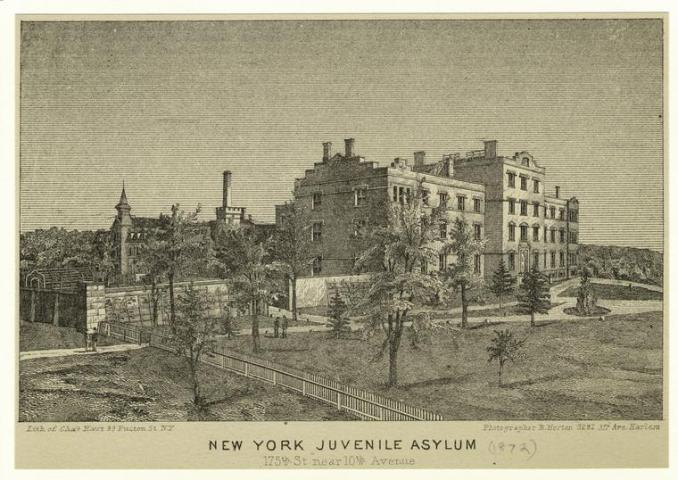 New York Juvenile Asylum, 175th St. near 10th Avenue. (1872)