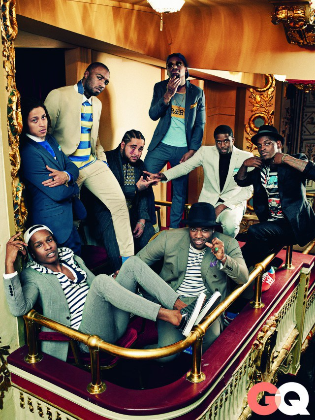 harlem shcuffle in gq magazine