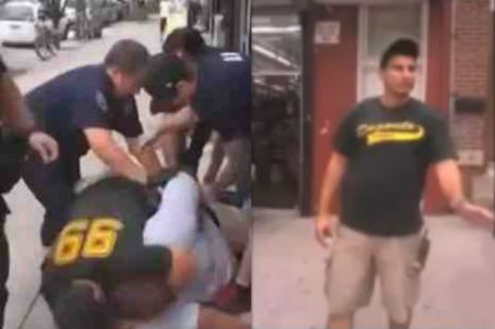 police choke hold man