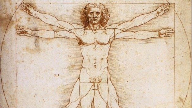 Uomo-Vitruviano-Leonardo-umanesimo-rinascimento