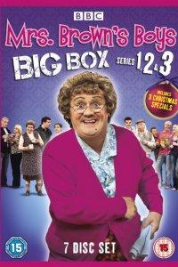 Mrs Browns Boys 1-3 DVD