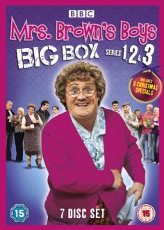 Mrs Browns Boys 1-3 DVD