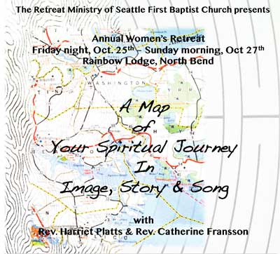 "Harriet Platts ""A  Map of Your Spiritual Journey in Image, Story and Song"