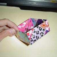Homemade Gift Idea- Origami Treat Box