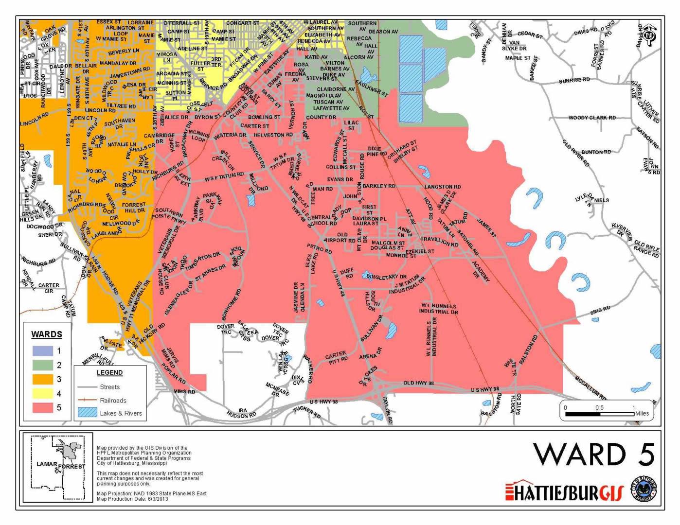city of jackson ward map choice image