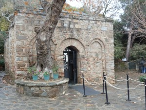 Entrance to the House of the Virgin Mary