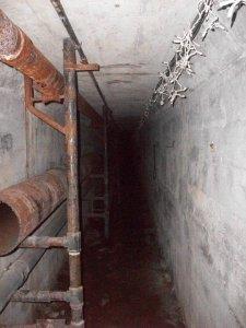 Pythian Castle tunnel