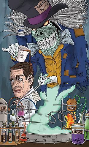 editorial cartoon of John Boehner by Will Caron