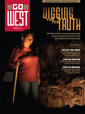 Cover image of UH West Oahu magazine