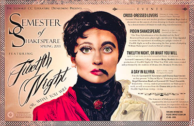 Leeward CC Shakespeare poster