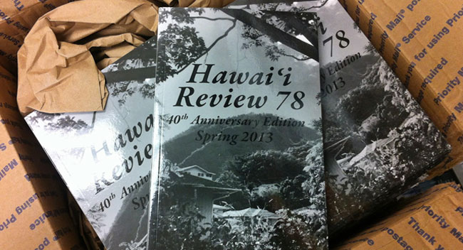Hawaii Review book