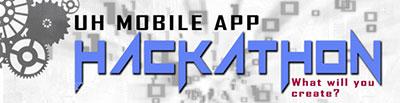 UH mobile app hackathon banner