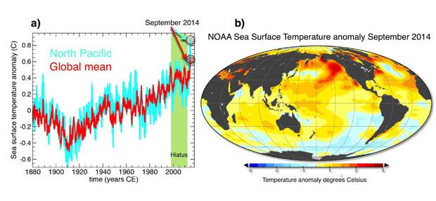 ocean temperature map