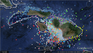 Satellite detections of tiger sharks around Maui
