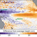 Extreme Pacific sea level events to double in future