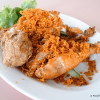 Mat Noh and Rose Ginger Fried Chicken Rice in Whampoa