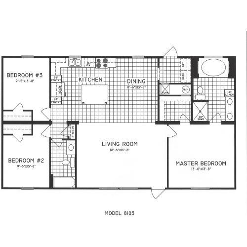 Medium Crop Of 3 Bedroom Floor Plans