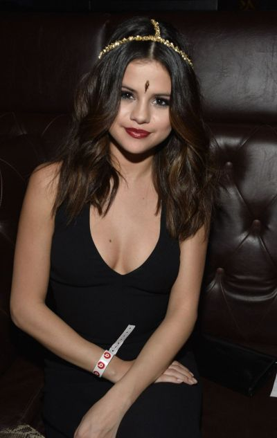SELENA GOMEZ at Beats Music Launch Party in Los Angeles - HawtCelebs