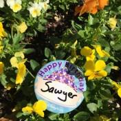 Disney-Birthday-Button-Flowers