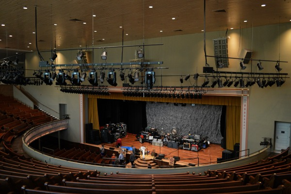 Two Days in Nashville, Tennessee: Ryman