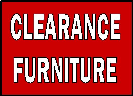 clearance discount furniture