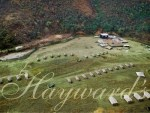 Aerial view of a Hayward's Grand Tented Camp